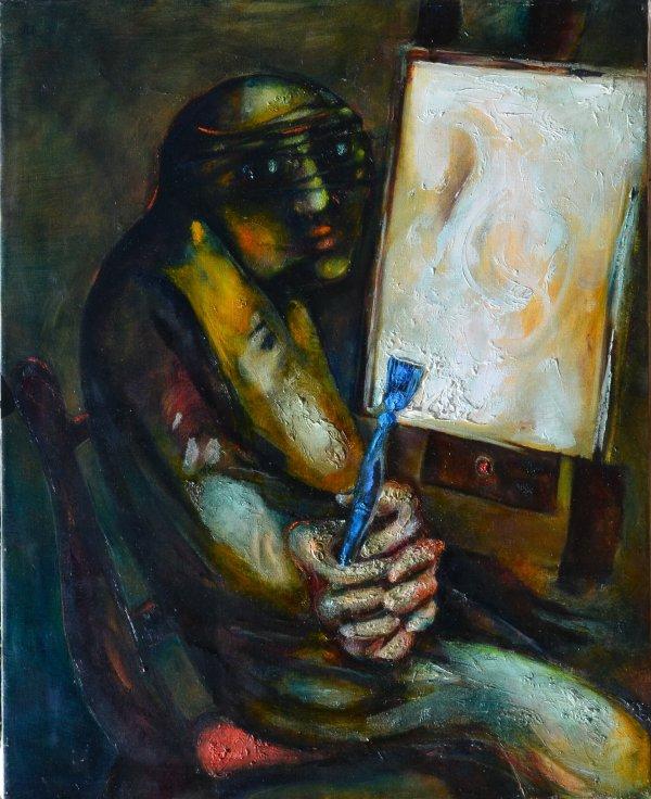 Bewildered Painter